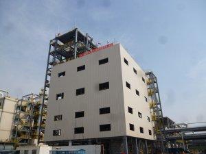 烟台万华PO/AE一体化项目MDI装置区